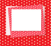 Red background. Royalty Free Stock Photography