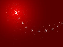 Red Background With Stars Royalty Free Stock Images