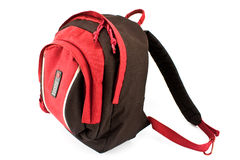 Red backpack Royalty Free Stock Image