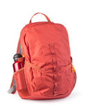 Red backpack Royalty Free Stock Photography