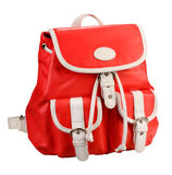 Red backpack Royalty Free Stock Photo