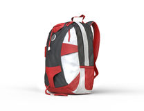 Red backpack Stock Images