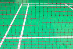 Red badminton net Royalty Free Stock Image