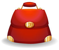 Red bag Stock Image