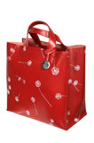 Red bag with figure Stock Images