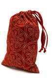 Red bag with gift Royalty Free Stock Images