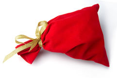 Red bag for gift Stock Photos