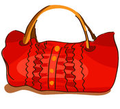 Red bag Stock Images
