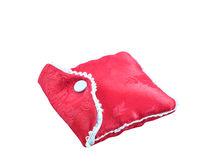 Red bag. On white background Stock Photos