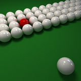 The red ball Royalty Free Stock Images