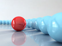 Red ball Royalty Free Stock Photos