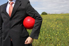 Red ball Royalty Free Stock Photography