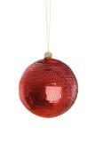 Red ball of christmas Stock Image