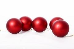 Red ball of christmas Stock Photo