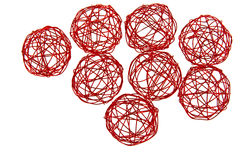 Red ball. Stock Photography