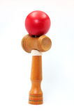 Red ball of kendama. Stock Images