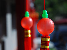 Red ball. A little Ornaments like red ball Royalty Free Stock Photos