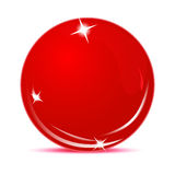 Red ball Royalty Free Stock Image