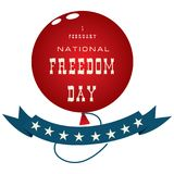Happy National Freedom Day Royalty Free Stock Photos