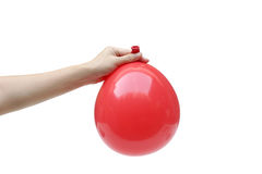 A red balloon Royalty Free Stock Photography