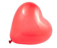 Red balloon heart Royalty Free Stock Images