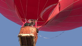 Red balloon stock video