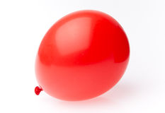 Red balloon. Isolaed on white Stock Images