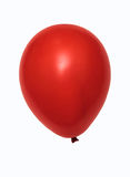 Red balloon isolated royalty free stock image