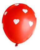 Red balloon isolated on white background (clipping path). Stock Photography