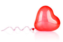 Balloon in the shape of a heart Royalty Free Stock Photo