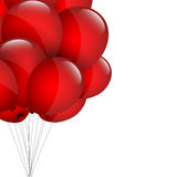 Red balloons Royalty Free Stock Photography