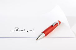 Red ballpoint Royalty Free Stock Image