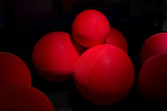Red Balls Background Royalty Free Stock Images
