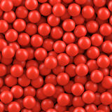 Red balls background Stock Photo