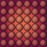 Red balls on brown background abstract Royalty Free Stock Photos