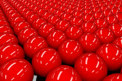 Red balls Royalty Free Stock Image