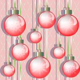 Red balls Royalty Free Stock Photography