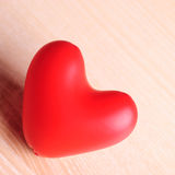 Red baloon heart Stock Image