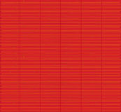 Red bamboo mat texture Stock Photos