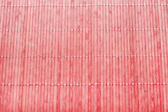 Red bamboo texture Stock Image