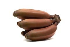 Red banana Stock Photo