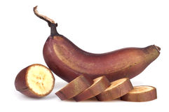 Red banana Stock Photo