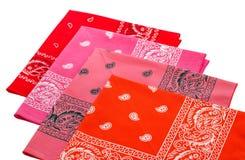 Red bandannas Stock Photos