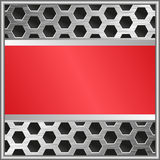 Red banner Royalty Free Stock Image