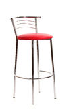 Red bar chair Stock Image