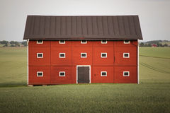 Red Barn Stock Images