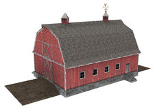 Red Barn Stock Photos