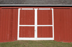 Red Barn Door Royalty Free Stock Images