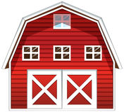 A red barn house Royalty Free Stock Photo