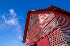 The red barn. Royalty Free Stock Photos